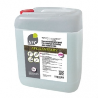 Щелочное гелеобразное средство для уборки санитарных комнат и бассейнов AFC-SANITARY, AFC-20